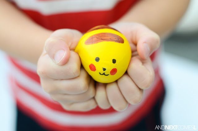 DIY Pokemon Stress Balls