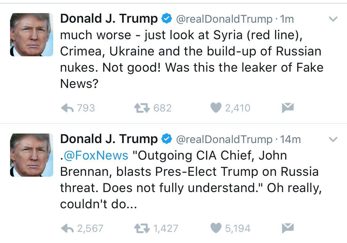 The President-elect is implying that the Director of the CIA may have...