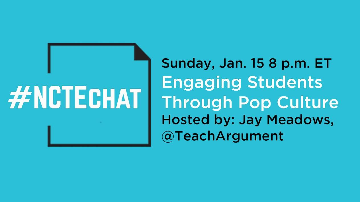 Welcome to January's #NCTEchat! https://t.co/AOfw9M8Tl1