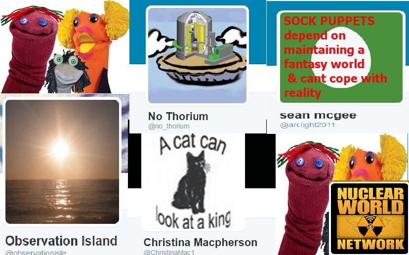 Avoid pathetic nut jobs &amp; hysterical anti #nuclear Sock puppets of Noel &quot;Christina Macpherson&quot; Wauchope #thorium #auspol #climate #uranium<br>http://pic.twitter.com/qsMWV7MnuJ