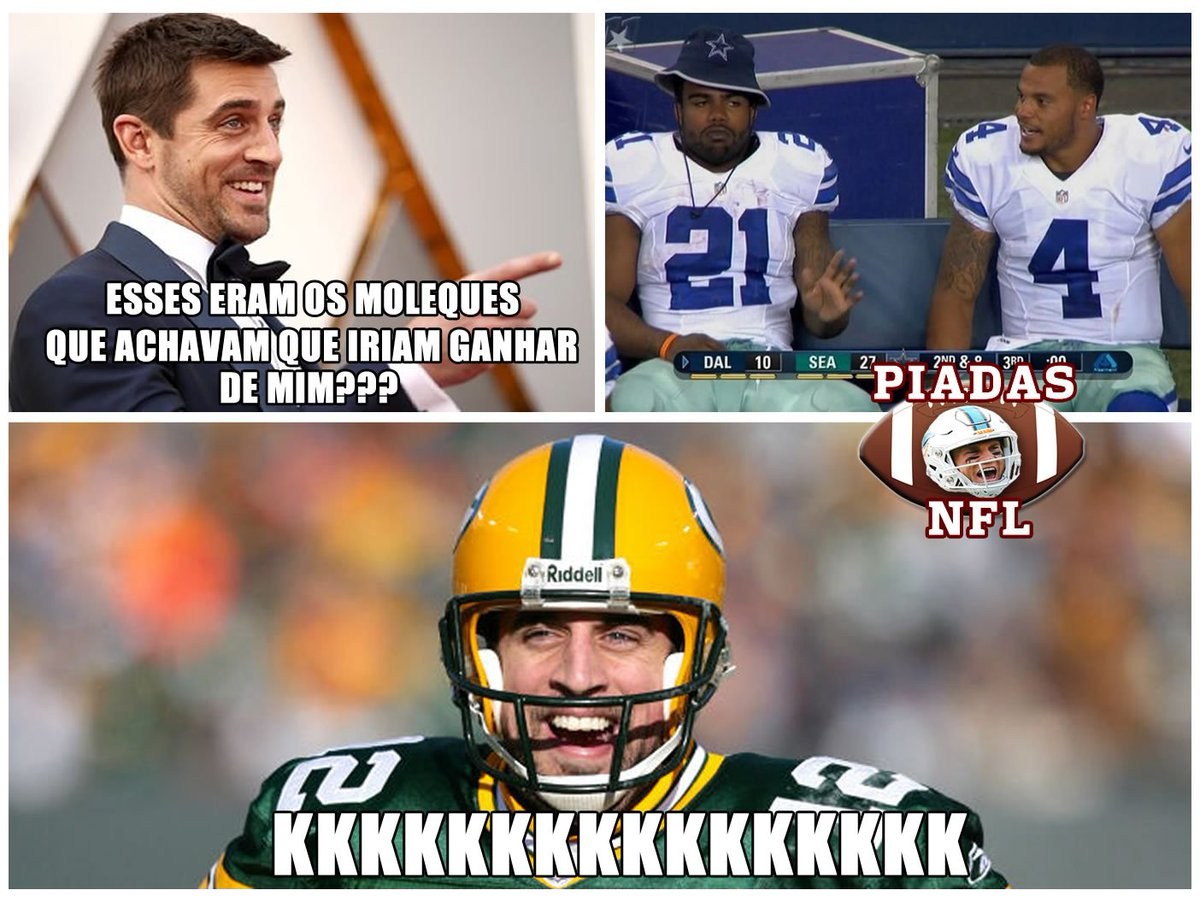 Rodgers é Rodgers, né pai #PlayoffsNFLnaESPN <br>http://pic.twitter.com/dcL3z3hJPd