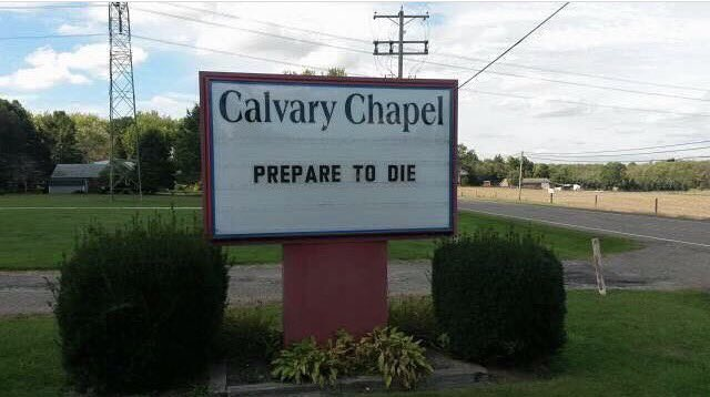 Hello, My name is Calvary Chapel. You killed my father. https://t.co/I6sYd9XMVG