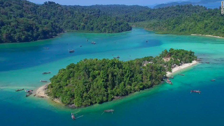 #Myanmar un petit paradis sur terre, archipel des Mergui composée de 800  îles v @cnni  http:// cnn.it/2jUM9O2  &nbsp;  <br>http://pic.twitter.com/jI4w1mf1sp