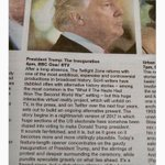 Thanks @kristygee for sharing this-- from Scotland's Sunday Herald TV listings: