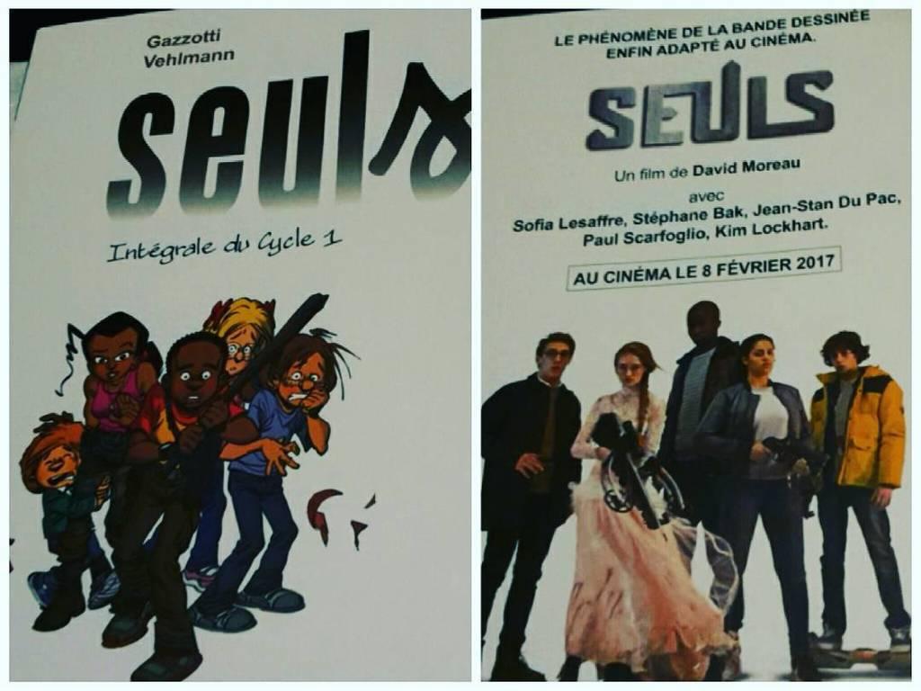 #Seuls : la bande dessinée / le film.  #seulslabd #seulslefilm  http:// ift.tt/2ixeWTv  &nbsp;  <br>http://pic.twitter.com/RB0Hgu2dno