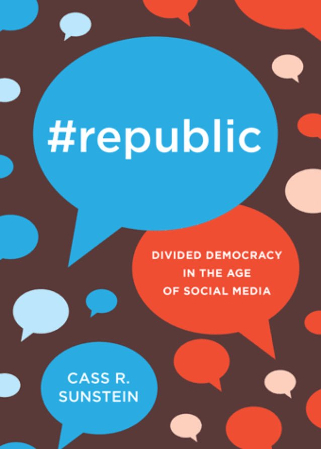 &quot;Cybercascades,&quot; exploits &quot;confirmation bias,&quot; and assists &quot;polarization entrepreneurs.&quot;  http:// press.princeton.edu/titles/10935.h tml &nbsp; …  #Republic #democracy #trust<br>http://pic.twitter.com/ibB8JESbAv