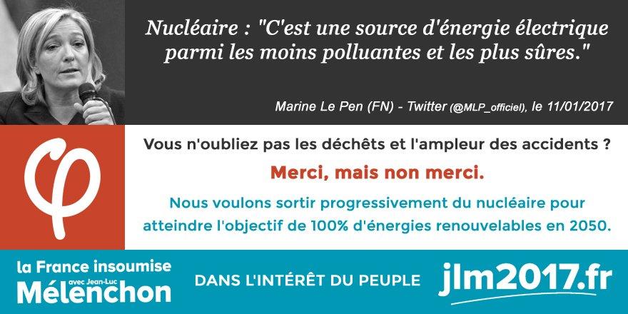 Merci, mais non merci Marine #LePen. #Nucleaire #Pollution #Dechet #Uranium #Demantelement #Ecologie #Energie<br>http://pic.twitter.com/gxNFCeCUgp