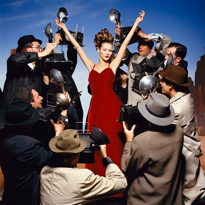 Happy Birthday Kate Moss, here\s one from Terry O\Neill back in \95. More :