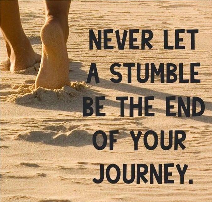Ne laissez jamais un trébuchement être la fin de votre voyage  .  #success #entrepreneur #leadership #CongoPreneur<br>http://pic.twitter.com/RgwSf0AKa4