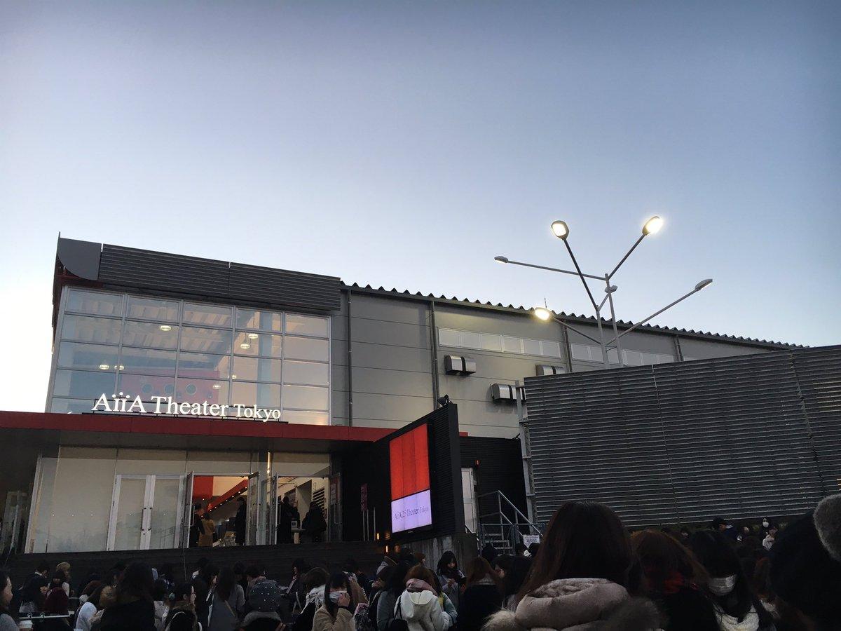 昨日の、あんステ東京千秋楽。当日券の列が700名を超えたそうです。来週から大阪、初の関西上陸。 https://t.co/5XzGs703Ol