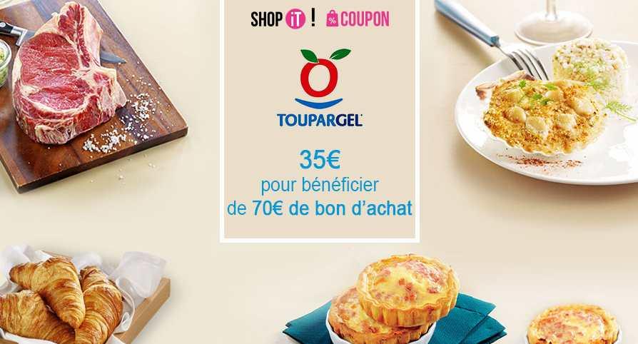 70€ d'achat sur Toupargel pour 35€ (valable…  https:// goo.gl/YcgWsu  &nbsp;   #Alimentation #Bondachatàmoitiéprix #ShopIt #Showroomprive #bonplan<br>http://pic.twitter.com/IomkDcD0I8