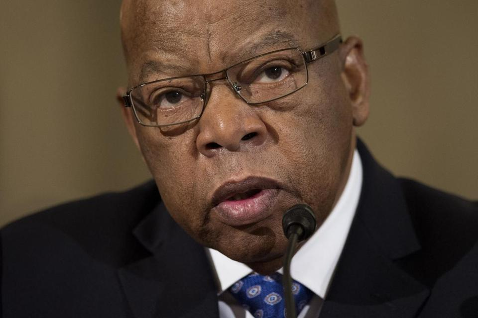 @Adrian_Walker: Congressman John Lewis's career has exemplified moral and physical courage.