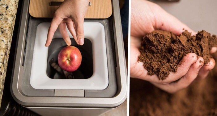 Vu au #CES2017 Cette poubelle transforme automatiquement vos déchets alimentaires en engrais  http:// piwee.net/1-poubelle-eng rais-dechets-alimentaires-120116/ &nbsp; …  @piweeFR #innovation<br>http://pic.twitter.com/XuYDq3wkbl