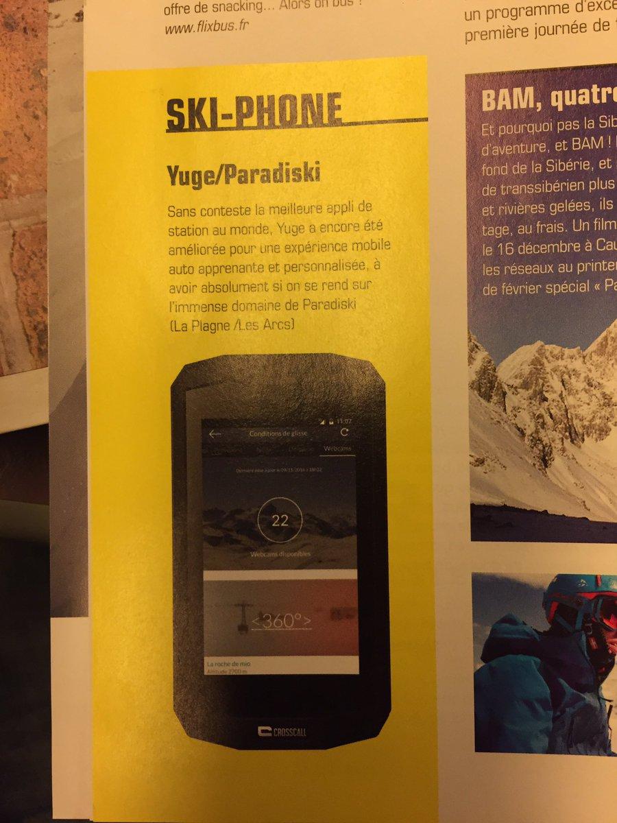 En toute simplicité merci #skimagazine #yuge #paradiski @FullsixGroup<br>http://pic.twitter.com/1tx5mbTaLP