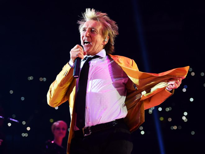 Here's how Rod Stewart has evolved through the years: https://t.co/x6n...