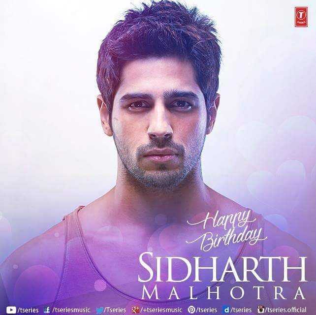 Happy Birthday party hard  sidharth_malhotra