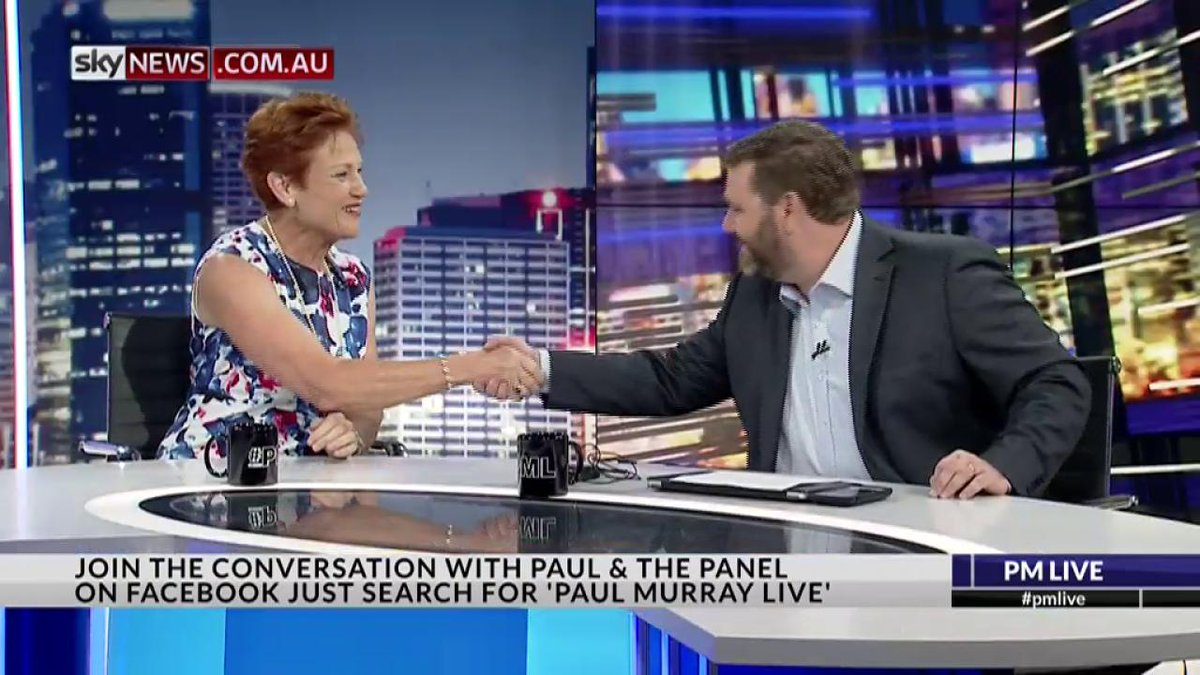 INTERVIEW: Sen Pauline Hanson on #pmlive https://t.co/oqSAuXZWo0