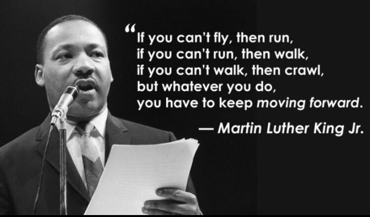 No excuses, no limits. #MLKDAY https://t.co/smbYPjwIvs