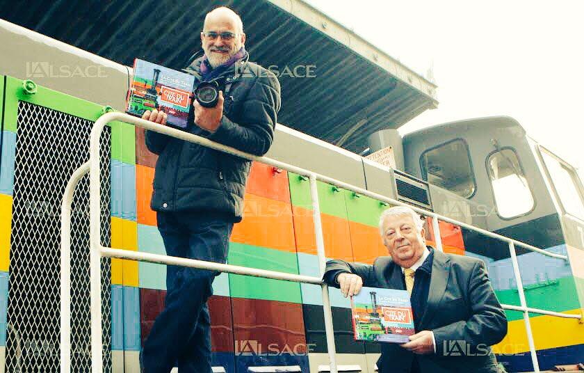 Le grand livre de la Cité du train: superbe travail de Philippe Mirville et J.J. d&#39;Angelo. #Patrimoine #SNCF  http://www. lalsace.fr/haut-rhin/2017 /01/15/le-grand-livre-de-la-cite-du-train &nbsp; … <br>http://pic.twitter.com/zqc31evnWH