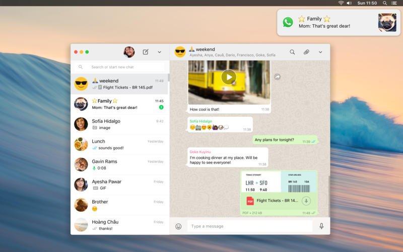 WhatsApp Desktop: app ufficiale arriva su Mac App Store https://t.co/Y1hIpZmPc8 https://t.co/KVqT9Pu7fp