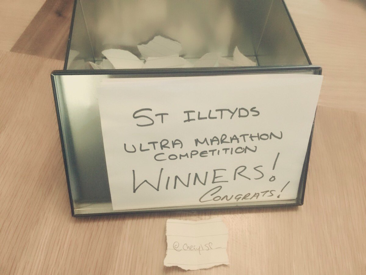 Congrats to @cherylsp_ for winning a place in the #stilltydstrail #ultramarathon #ukrunchat<br>http://pic.twitter.com/D5ArWKZIWh