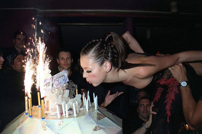 Happy birthday my queen In honour of the birthday girl, Kate Moss: