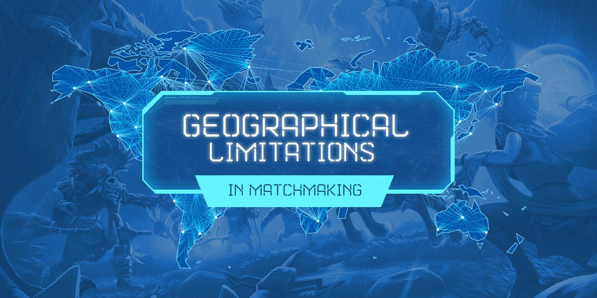 Geographical matchmaking
