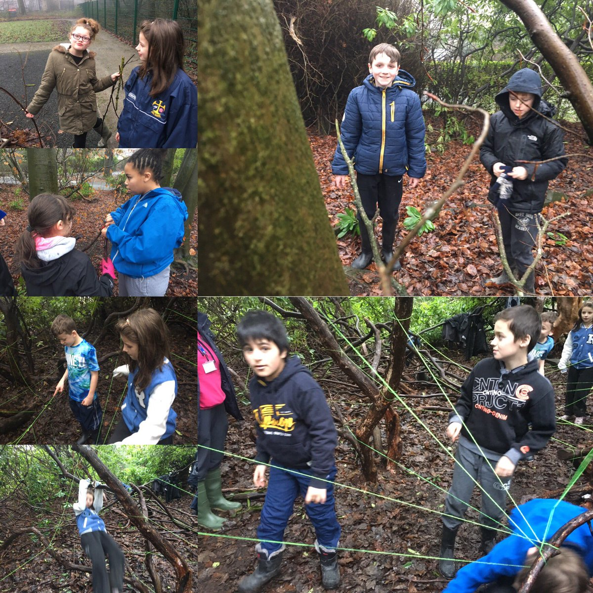 Fun in a foggy forest! Great session with the Yr 7&#39;s from All Saints. #forestschools #rossendale<br>http://pic.twitter.com/ObjOMsDxj0