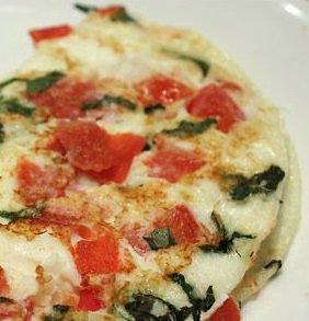 Tomato Basil Omelet