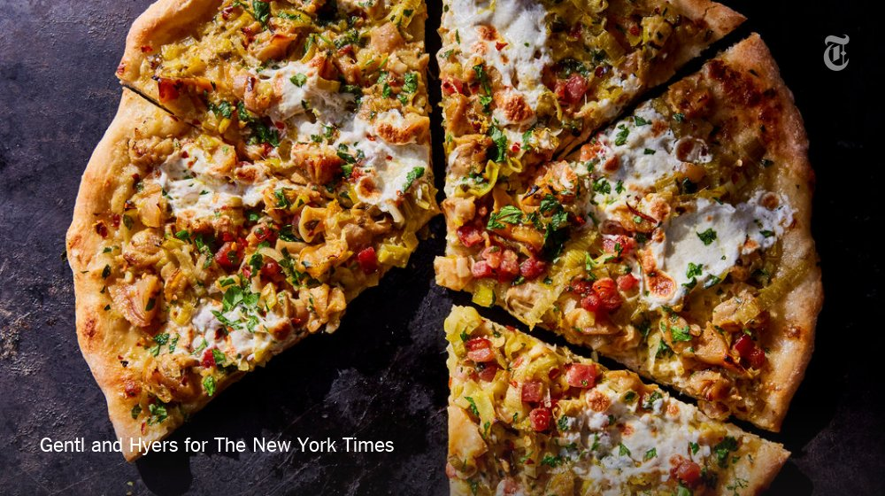 The New York Times On Twitter Why Clam Chowder Pizza Is