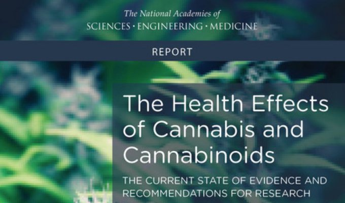 The Health Effects of Cannabis and Cannabinoids: The Current State of Evidence and Recommendations for Research https://t.co/L6oLk8Wvc3