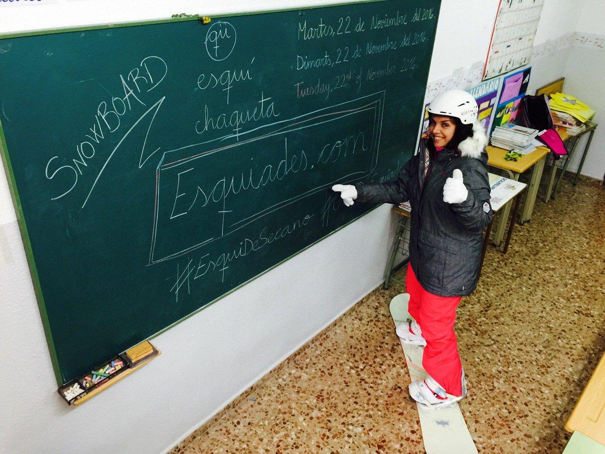 Finalizado el plazo de inscripciones de #EsquiDeSecano 😀 procedemos a publicar las candidatas para que las votéis ➡️https://t.co/Gu0J1O9dEE
