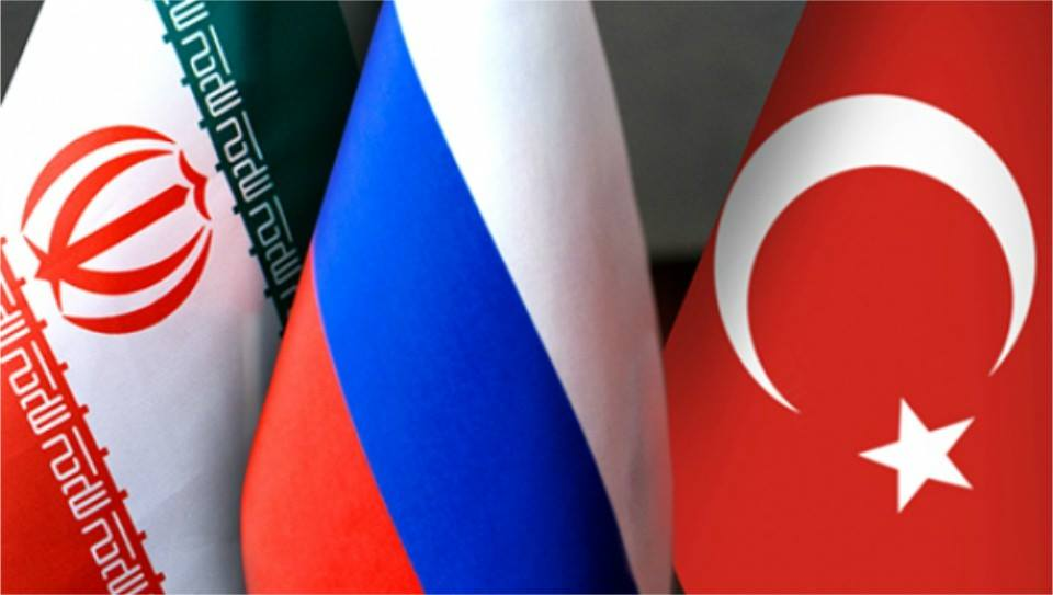On January 13, @MFA_Russia hosted trilateral consultations on #Syria between #Russia, #Iran and #Turkey   http://www. mid.ru/en/foreign_pol icy/news/-/asset_publisher/cKNonkJE02Bw/content/id/2594310 &nbsp; … <br>http://pic.twitter.com/s00CuXlXxH