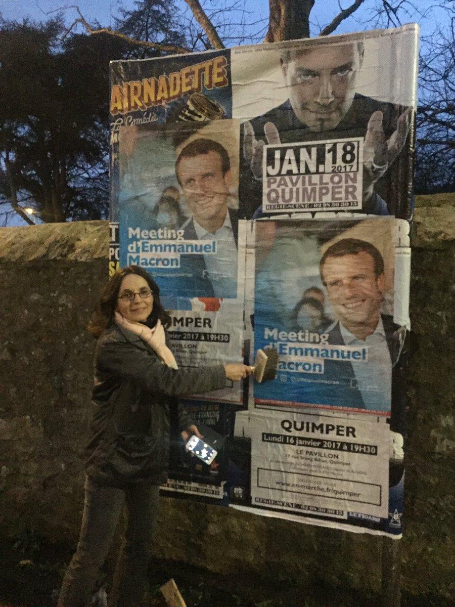 #MacronQuimper #yeswewalk #macron2017 #quimper se prépare avec @AnnaMaria1504<br>http://pic.twitter.com/vIPD7TD7Ss