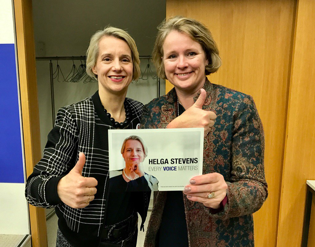 Wishing the inspirational @StevensHelga all the best for tomorrow's #E...