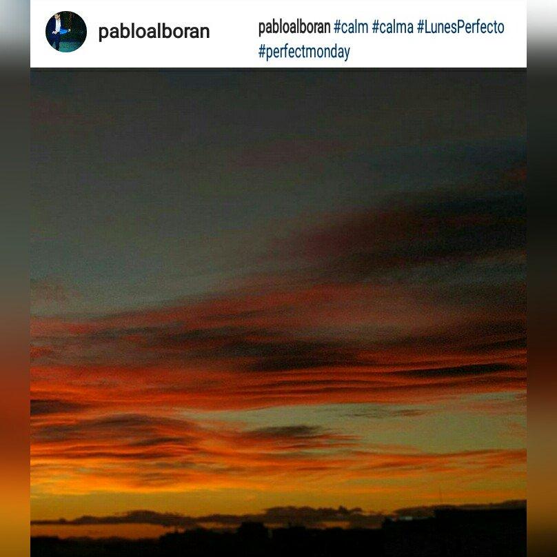 #InstaFoto  @pabloalboran #calma #LunesPerfecto  Así es imposible tener un lunes triste<br>http://pic.twitter.com/5MCujlXchz