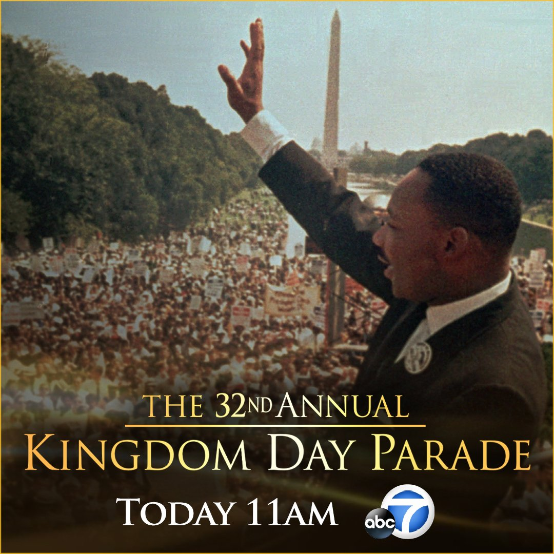 LIVE: Coverage of 32nd annual Kingdom Day Parade begins now on @ABC7