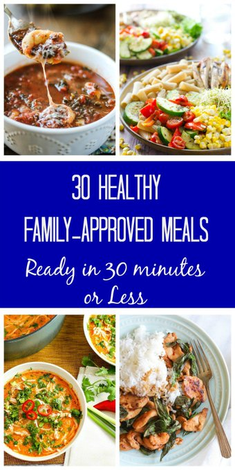 30 Meals Made in 30 Minutes: A Month of 30 Minute Meals