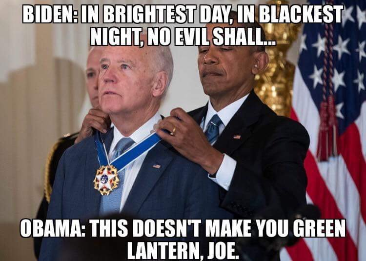 Jellymuppet Sad Space Cowboy On Twitter I M Not Usually Enormously Fond Of Memes But The Joe Biden Ones Fuck Me Up