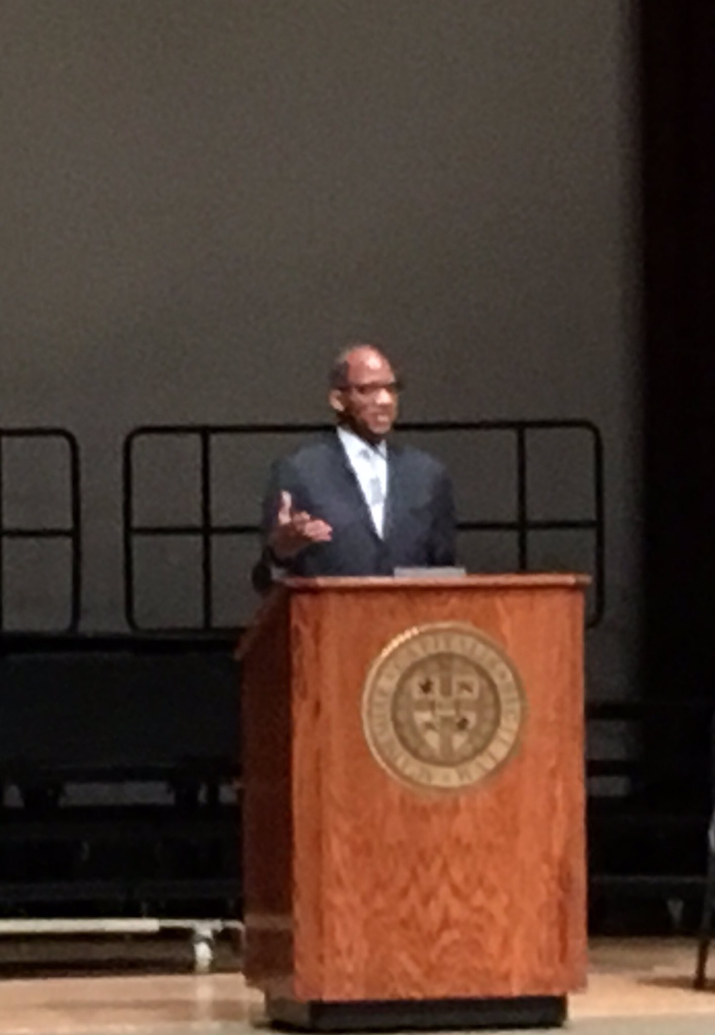 Journalist and author Wil Haygood. @Capital_U https://t.co/vd9vdk1wKW
