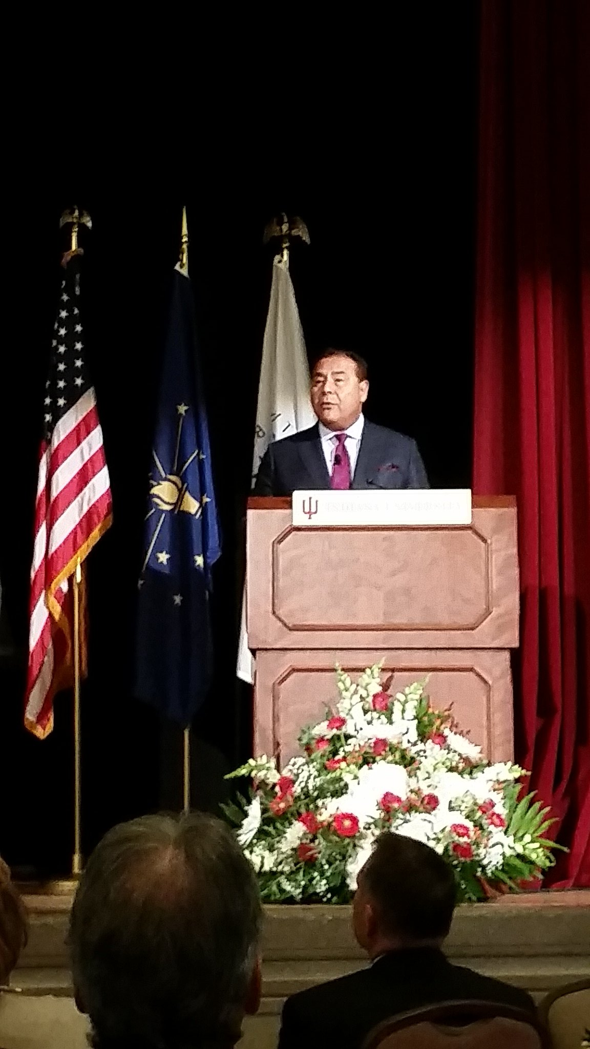 @JohnQABC Quinones speaks about how the civil rights movement made his career possible #mlkday https://t.co/GnHjH75FtH