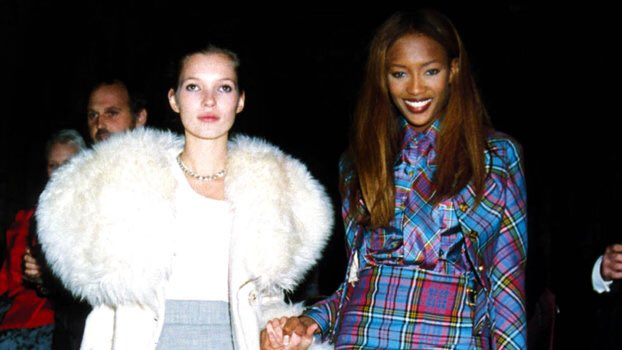 Naomi Campbell wishes Kate Moss happy birthday with a glorious Instagram collage: