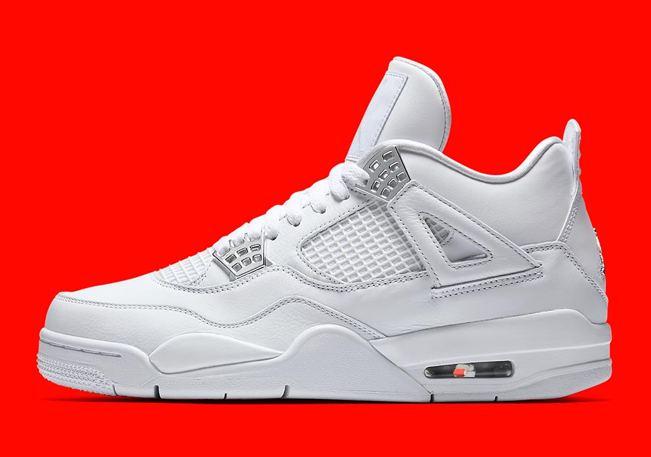 9d11fad1c670b7 Pure    . All-white Jordan 4s coming May 13th http   snkrne.ws 2jOoOxv pic. twitter.com Jqee9eA5SI