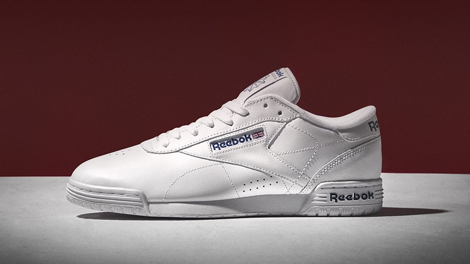 262dcbc09b43a classics with a kick finish off those laid back looks with the reebok ex o  fit