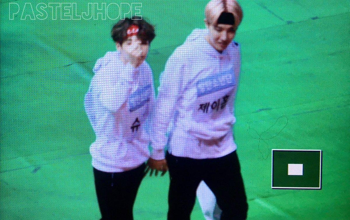 170116 아육대 솝😳❤️ #방탄소년단 BTS #jhope #SUGA #솝므 @BTS_twt