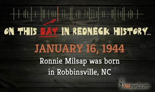 Happy Birthday to Ronnie Milsap!