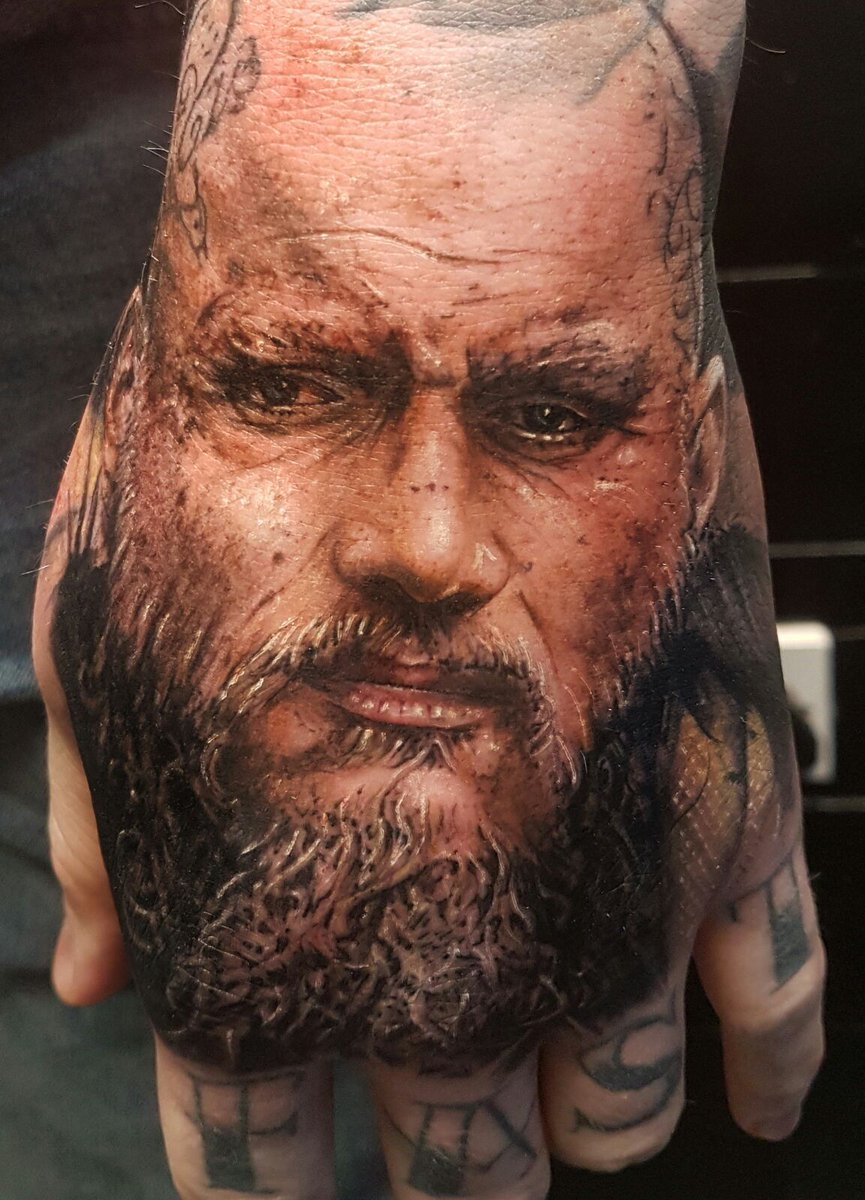 Ragnar lothbrok tattoo the image kid for Did vikings have tattoos
