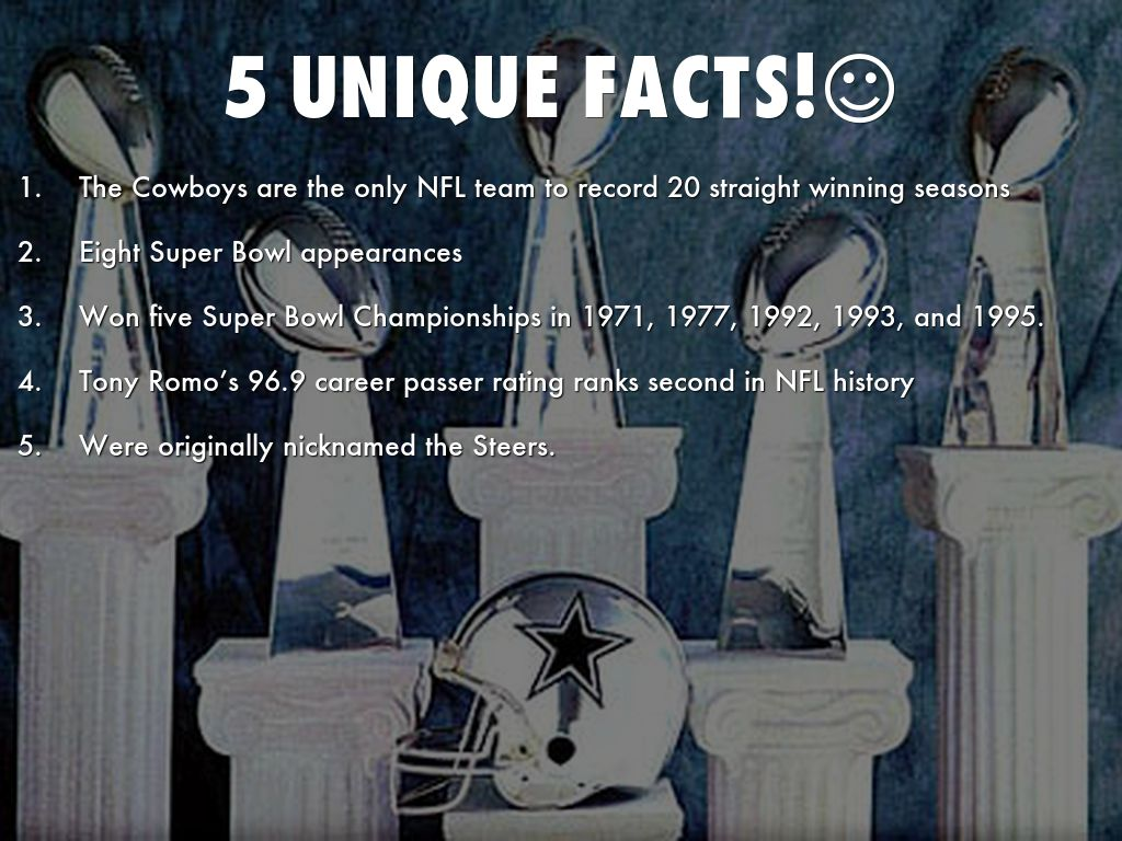 5 unique facts! #dallas #sports #facts #cowboys #sportsbuzzdallas<br>http://pic.twitter.com/86VPJU9kJG