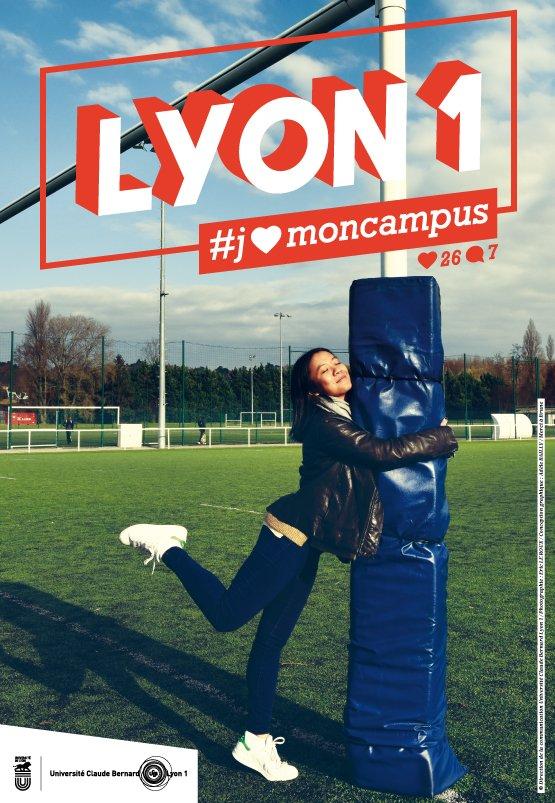 Découvrez la campagne de #Communication 2017 de l&#39;Université Claude Bernard Lyon1 :  http:// bit.ly/2jgEaHM  &nbsp;   #JaimeMonUniversité #univlyon1<br>http://pic.twitter.com/5YfDY7Lc7A