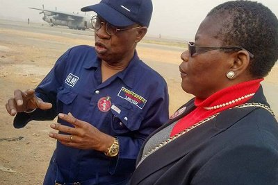 Foremost leader of BringBackOurGirls [BBOG], Oby Ezekwesili has accepted Lai Mohammed's daring invitation to tour the infamous Sambisa Forest.